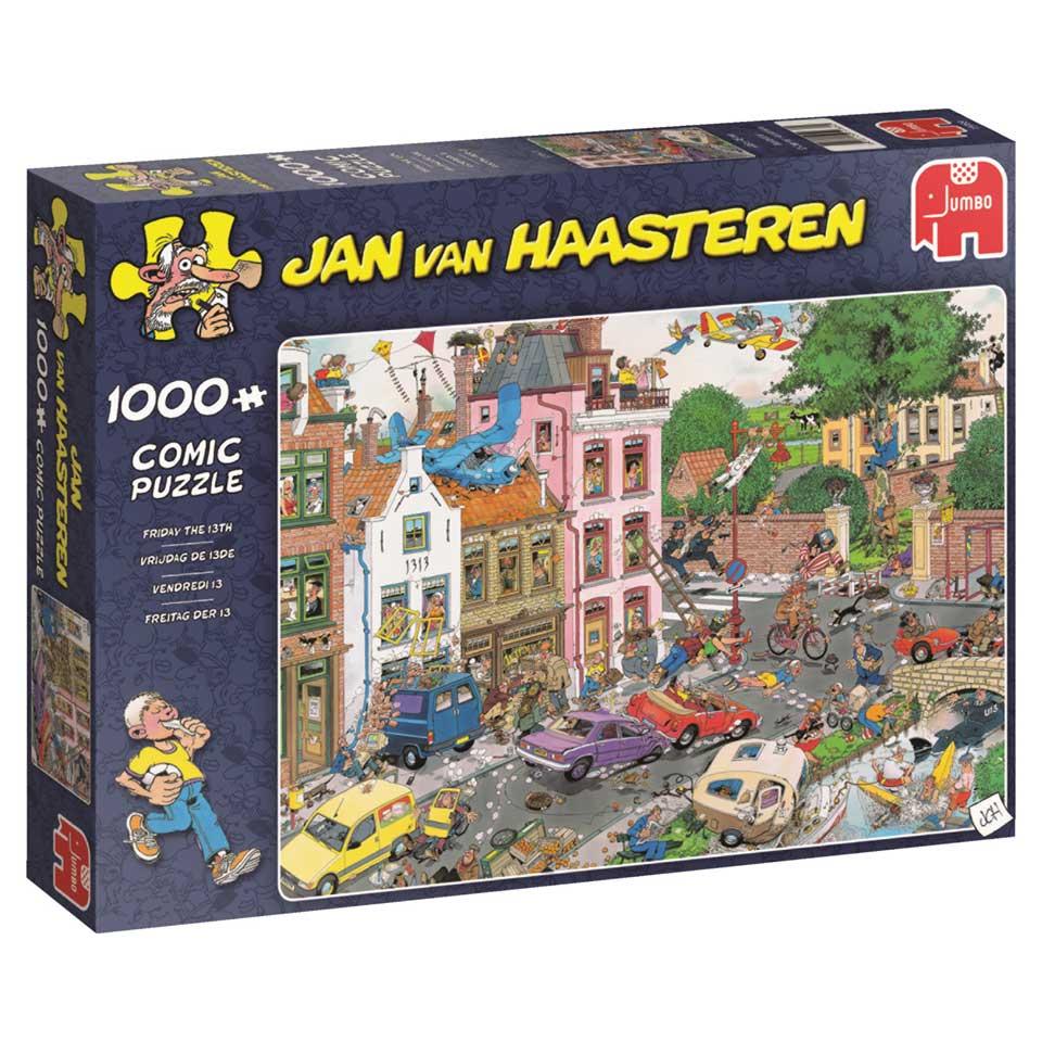 Jumbo Jan van Haasteren puzzel Vrijdag de 13e - 1000 stukjes