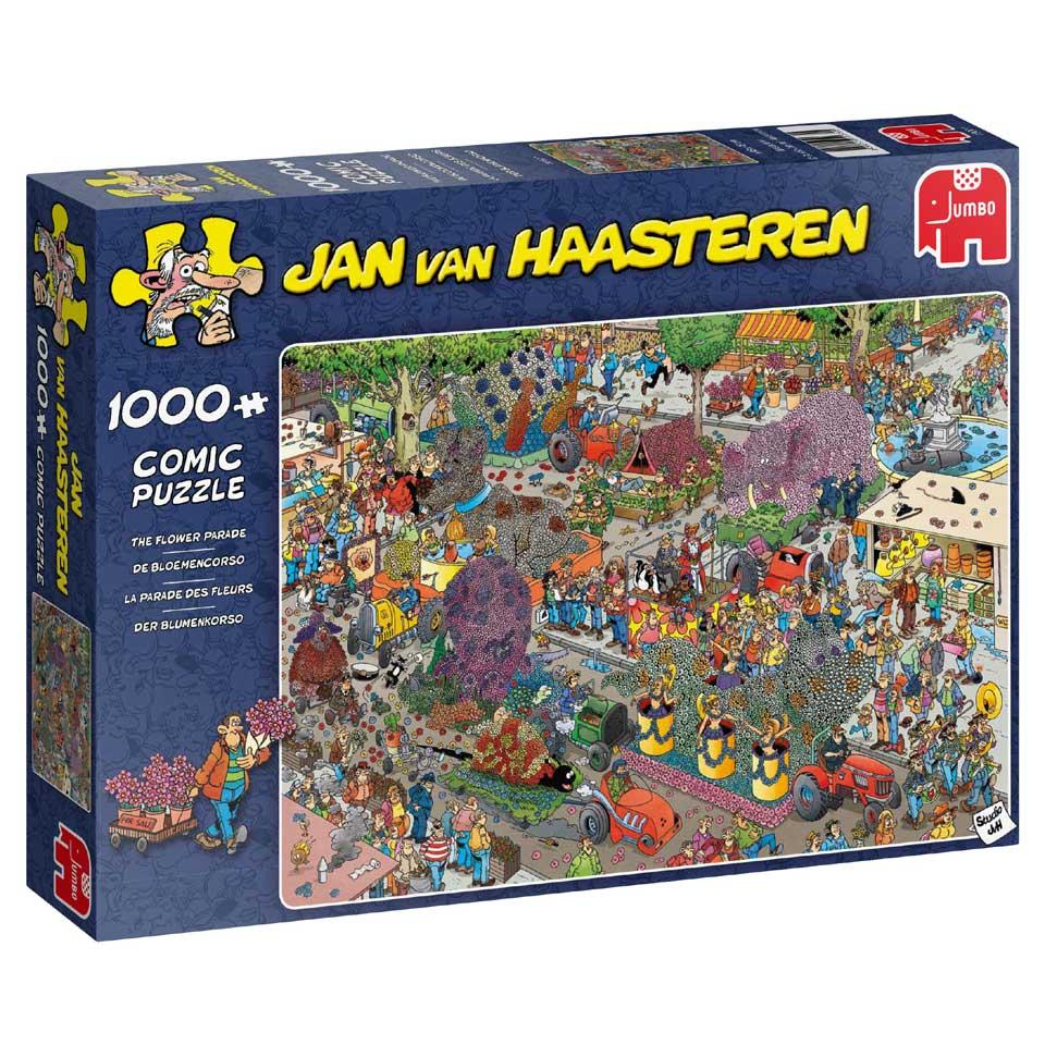 Jumbo Jan van Haasteren puzzel De bloemencorso - 1000 stukjes