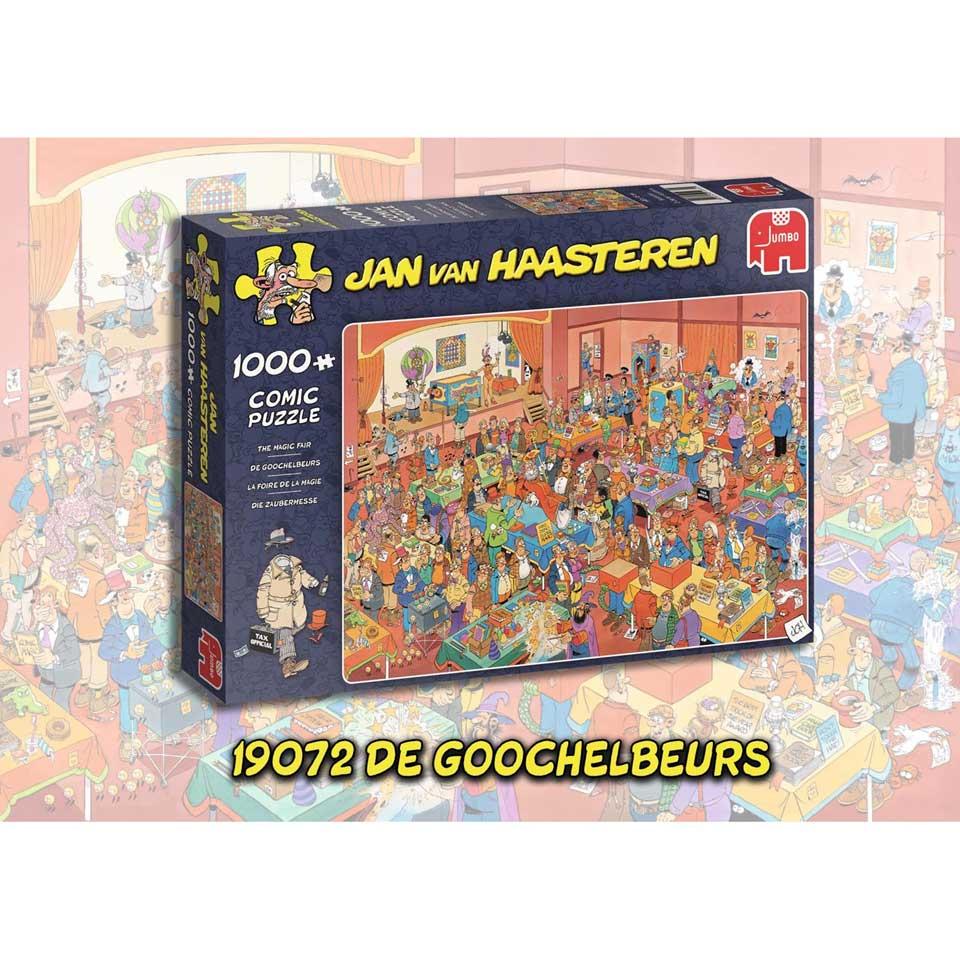 Jumbo Jan van Haasteren puzzel De goochelbeurs - 1000 stukjes