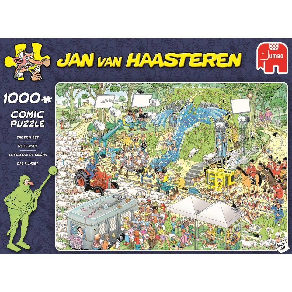 Jumbo Jan van Haasteren puzzel De filmset - 1000 stukjes