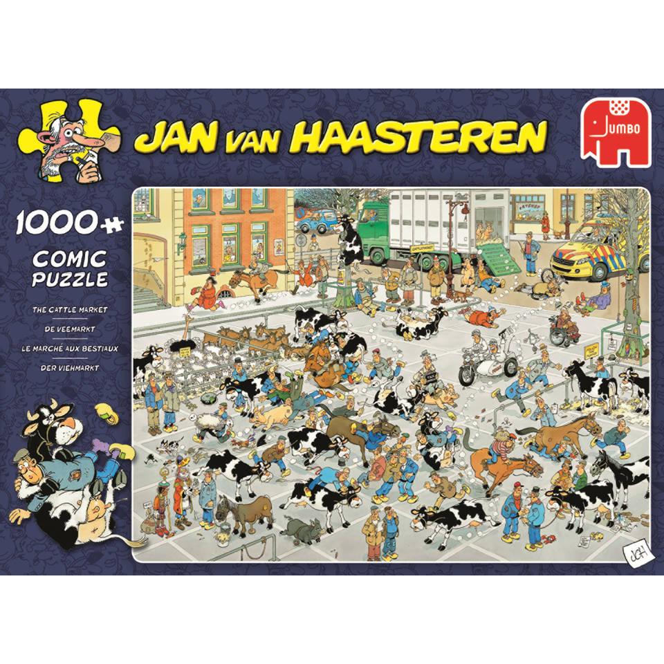 Jumbo Jan van Haasteren puzzel De Veemarkt - 1000 stukjes
