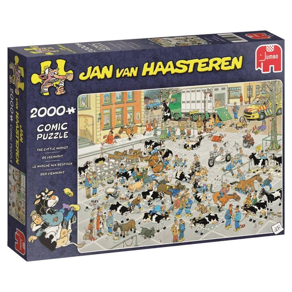 Jumbo Jan van Haasteren De Veemarkt - 2000 stukjes