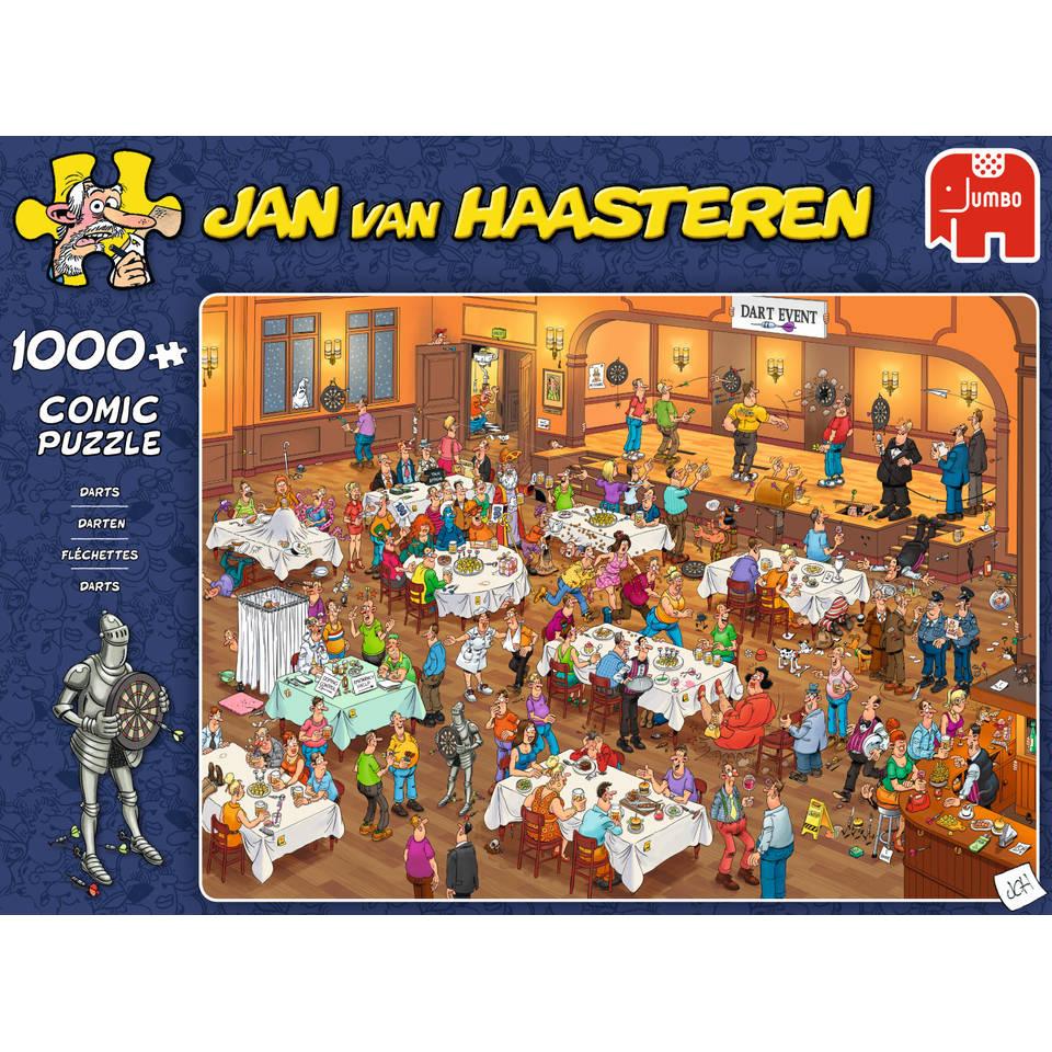 Jumbo Jan van Haasteren puzzel Darts - 1000 stukjes