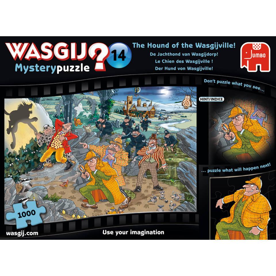 Jumbo Wasgij Mystery 14 puzzel de jachthond van Wasgijdorp - 1000 stukjes