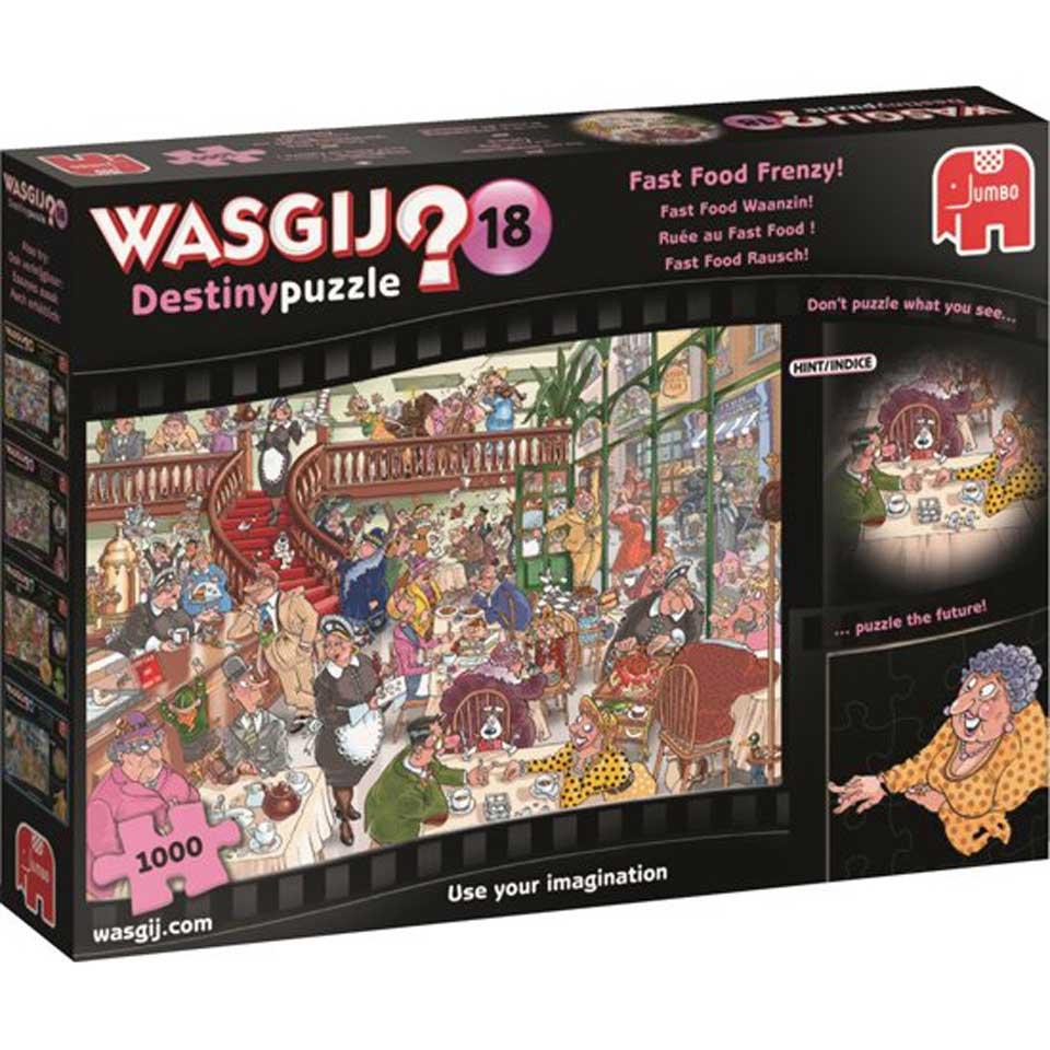 Jumbo Wasgij puzzel Happy Meals! - 1000 stukjes