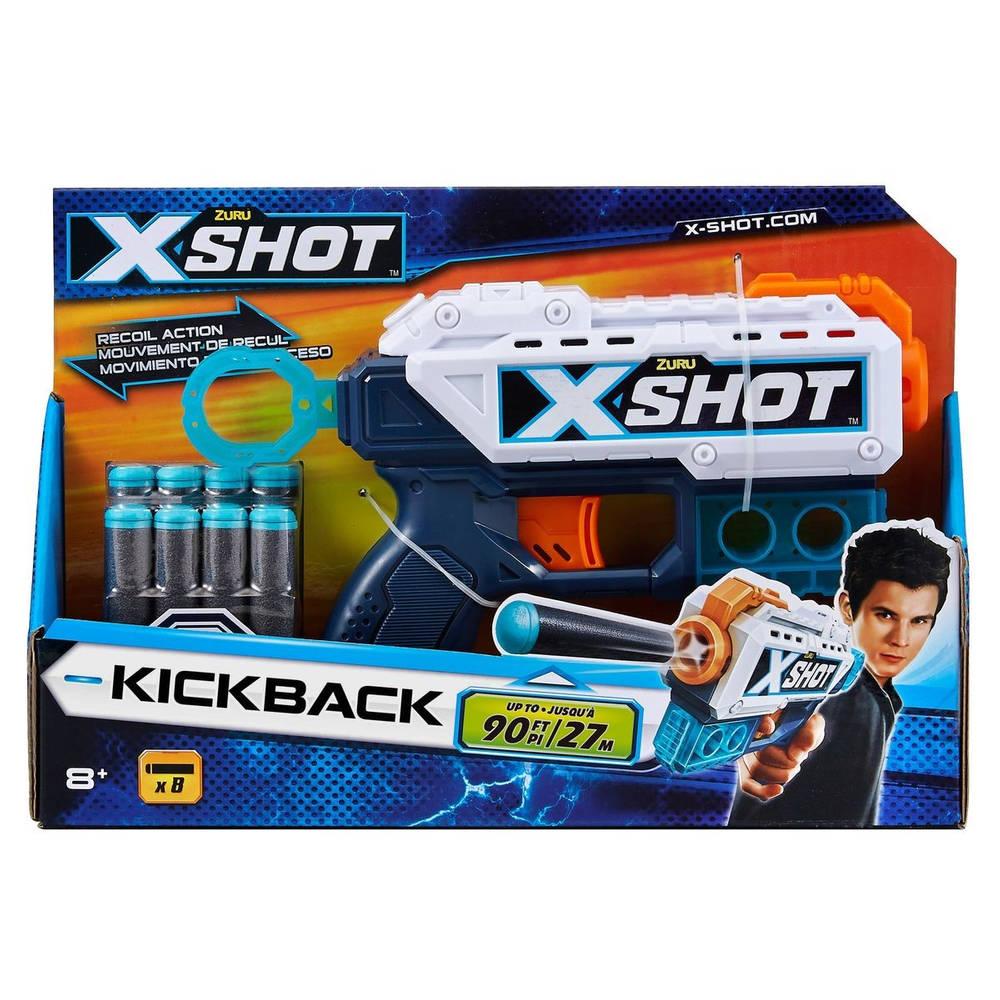 X-Shot Recoil blaster - 8 darts