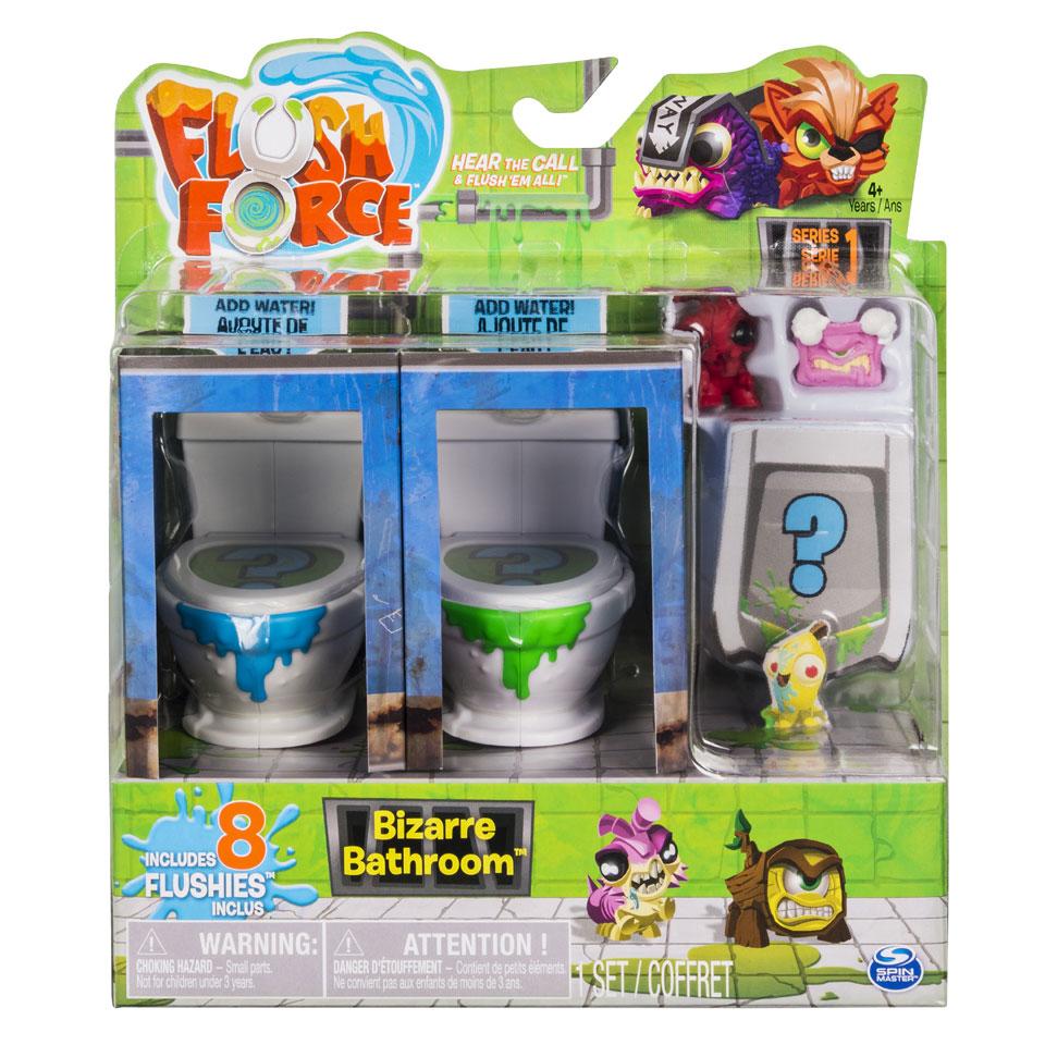 Flush Force bizarre badkamer - 8 pack