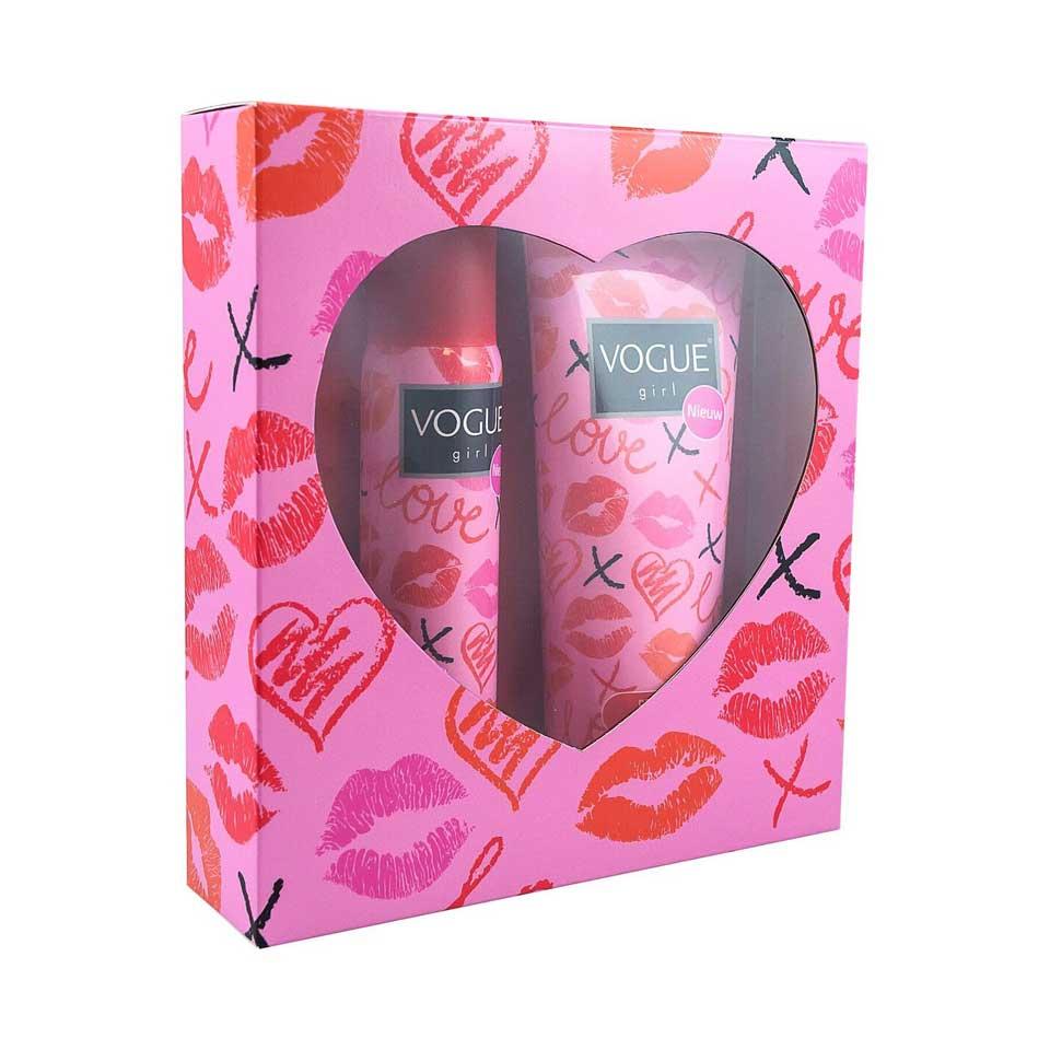 Hartendoos Kiss deodorant + douchegel