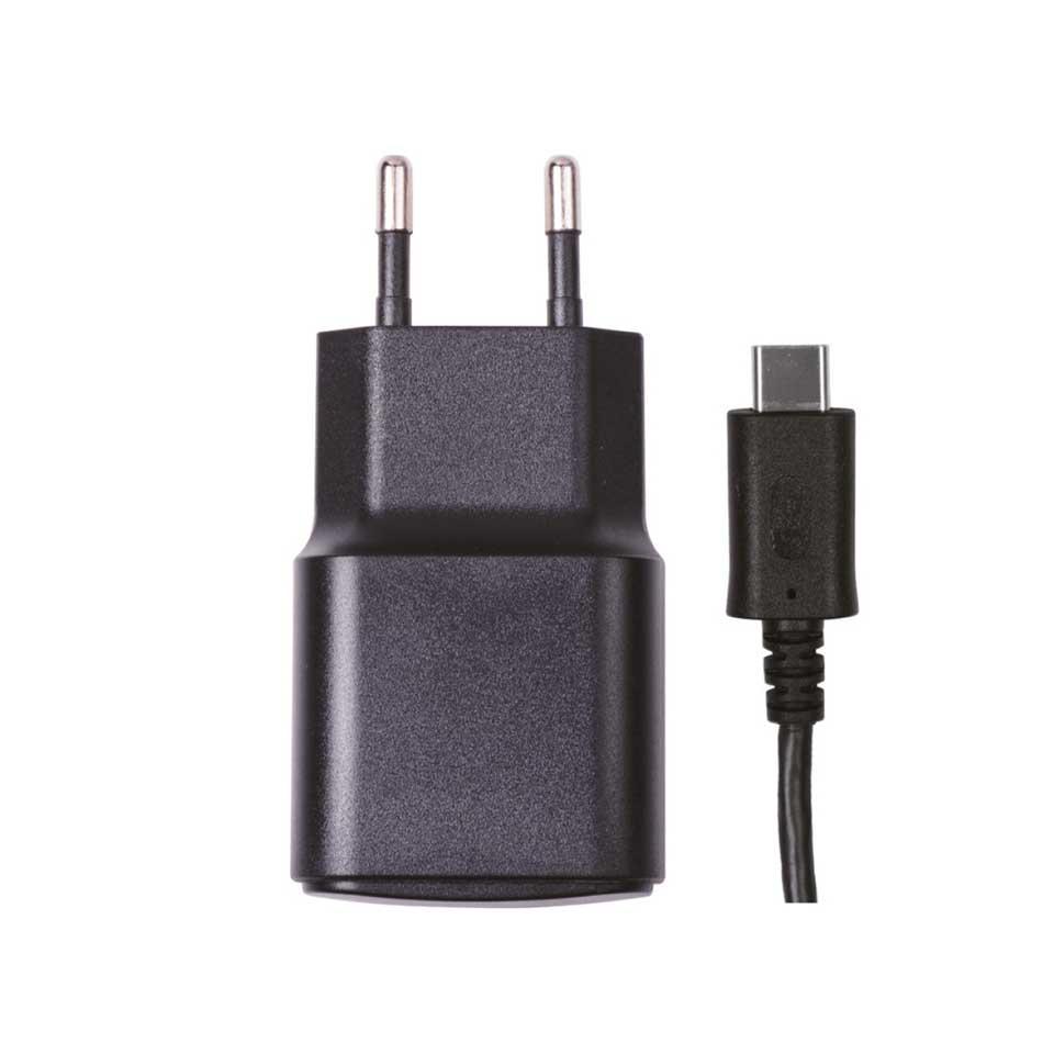 Nintendo Switch Qware AC Adapter + oplaadkabel USB-C - 1,8 meter
