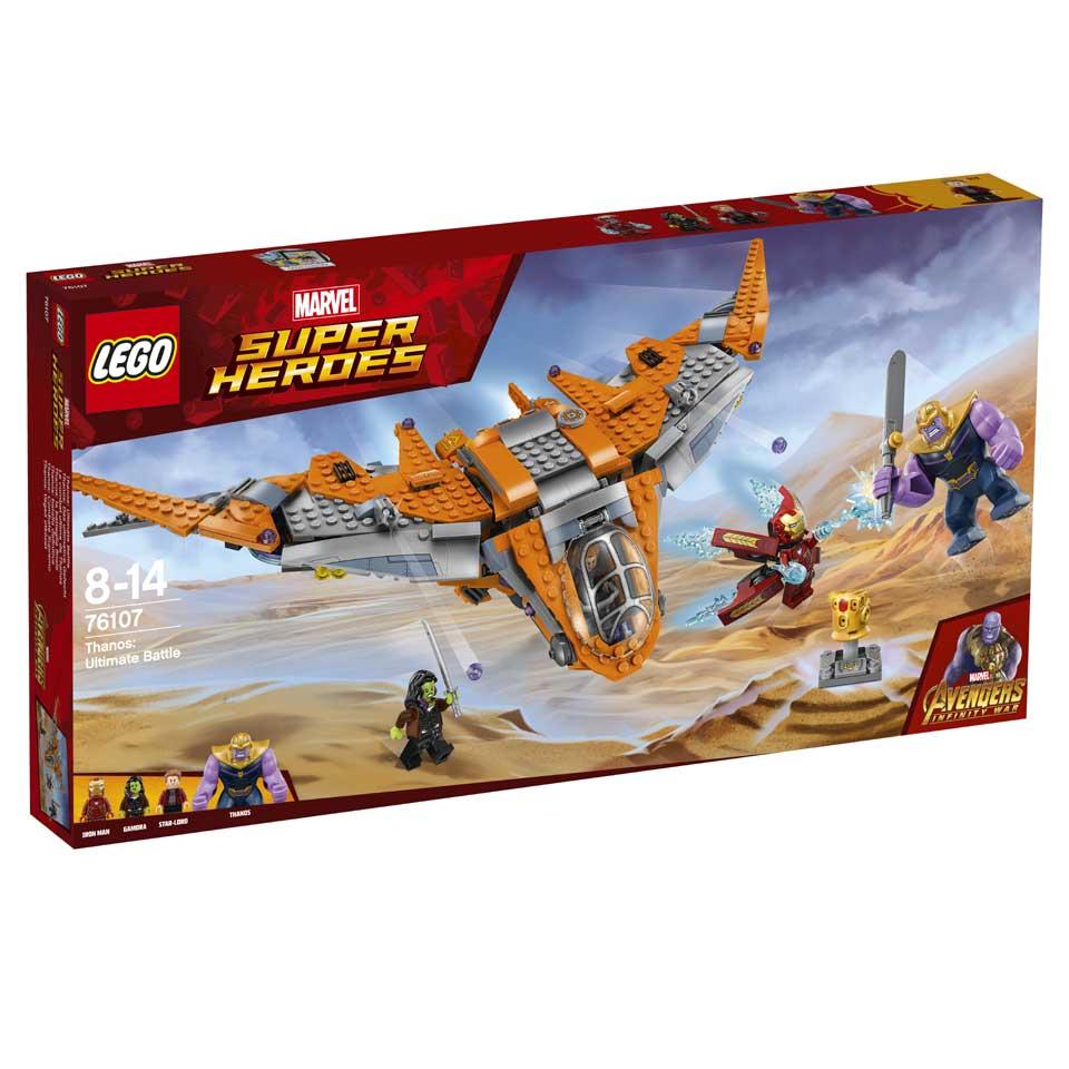 LEGO Marvel Super Heroes Thanos het ultieme duel 76107