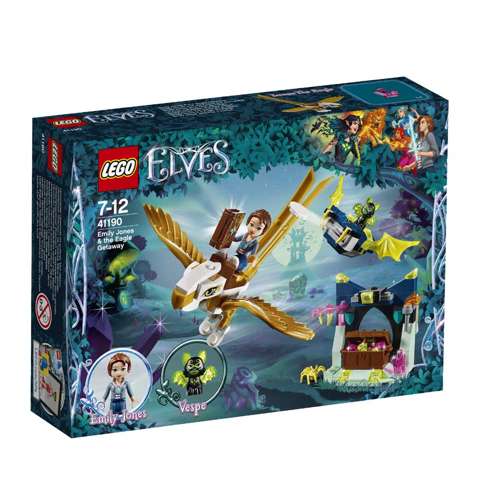 LEGO Elves Emily Jones en de Adelaarontsnapping 41190