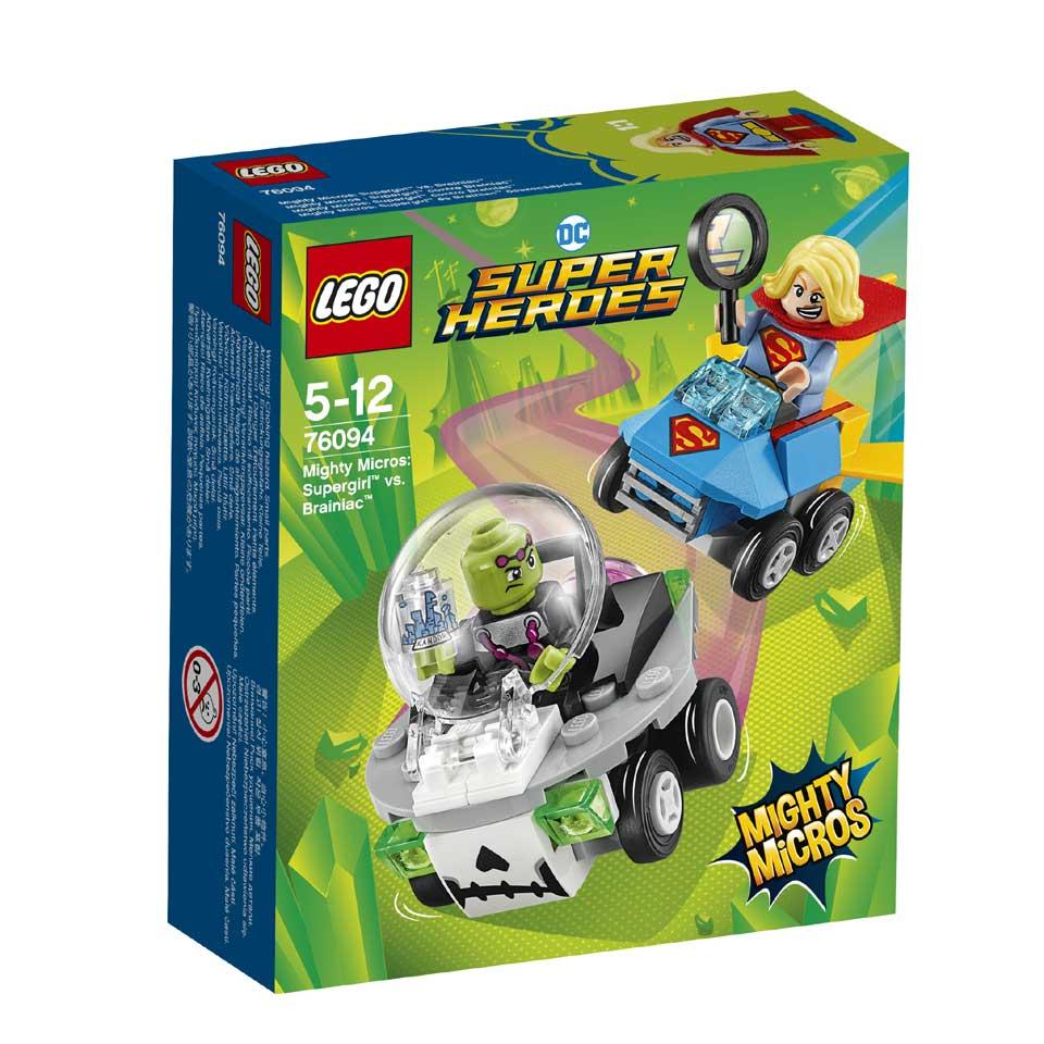 LEGO DC Comics Super Heroes Mighty Micros: Supergirl vs. Brainiac 76094