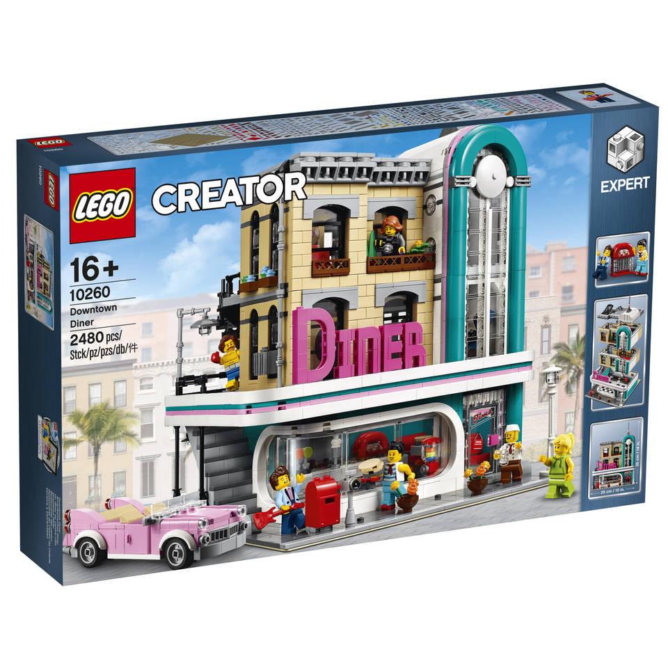 LEGO Creator diner in de stad 10260