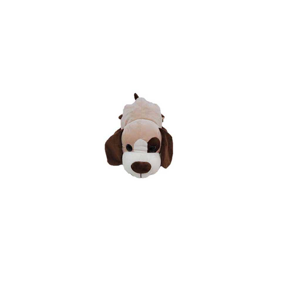 Omdraai pluchen knuffel hond/aap