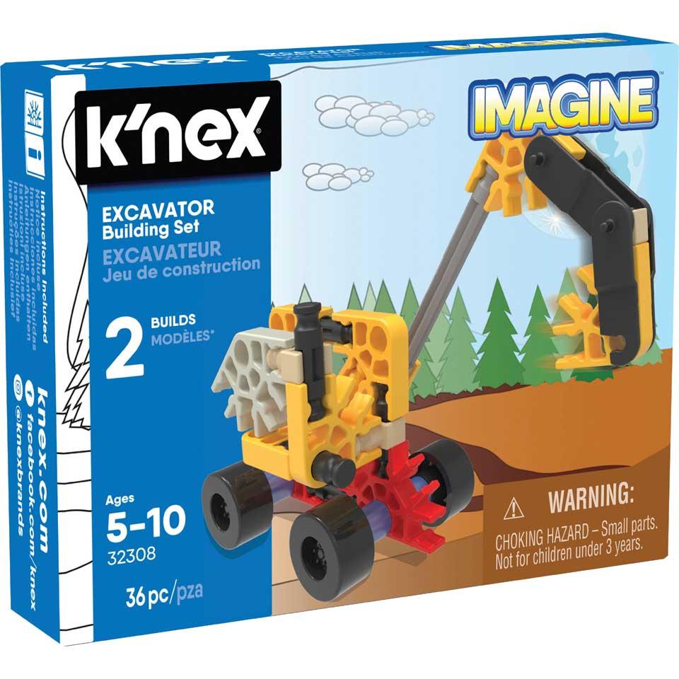 K'NEX bouwset graafmachine