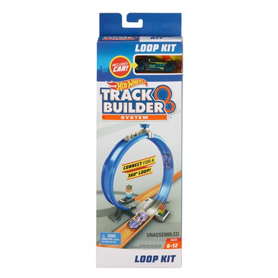Hot Wheels Track Builder looping set
