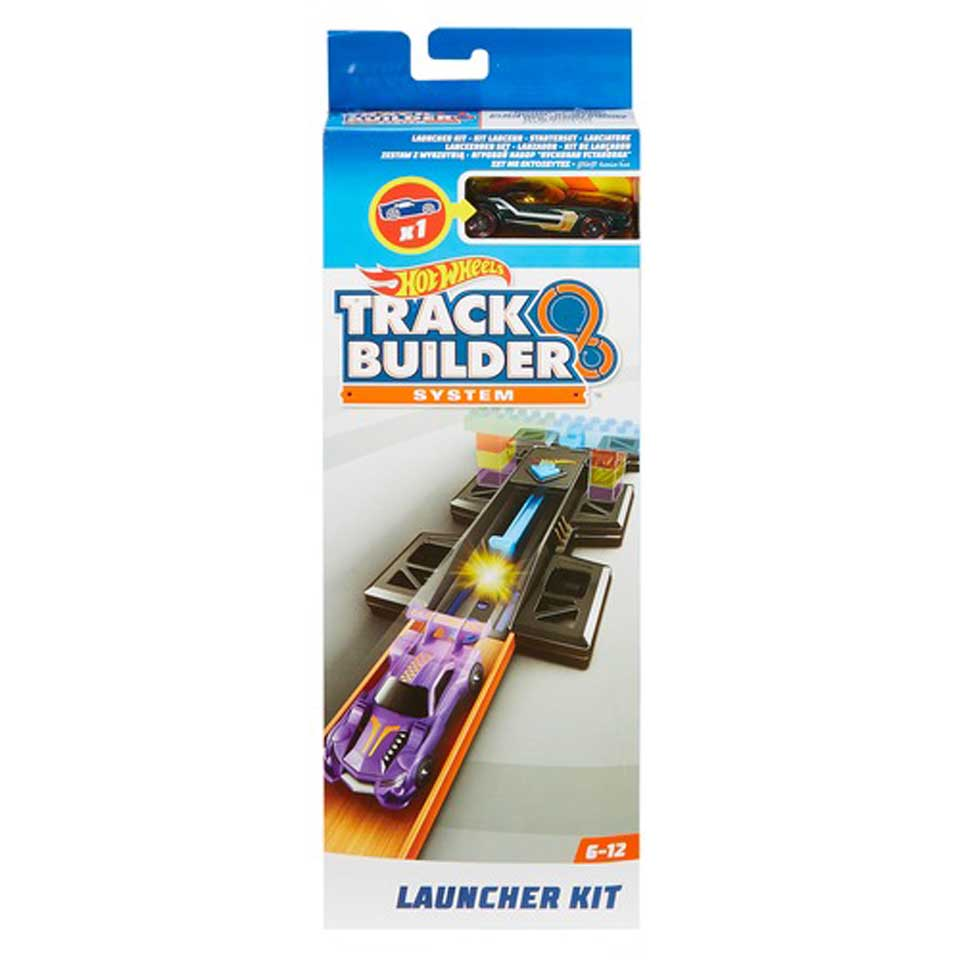 Hot Wheels Track Builder lanceerder