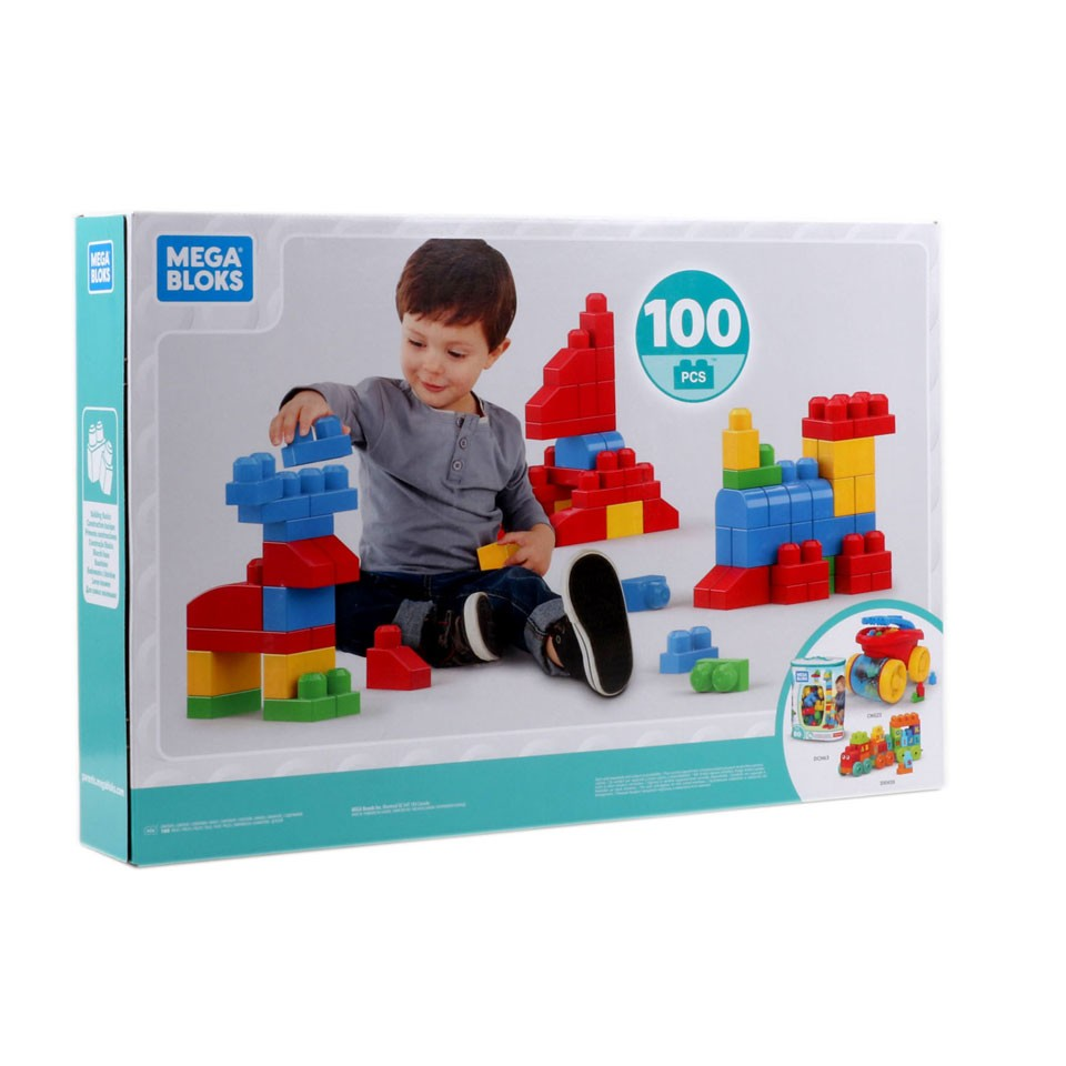 Mega Bloks klassieke set - 100-delig