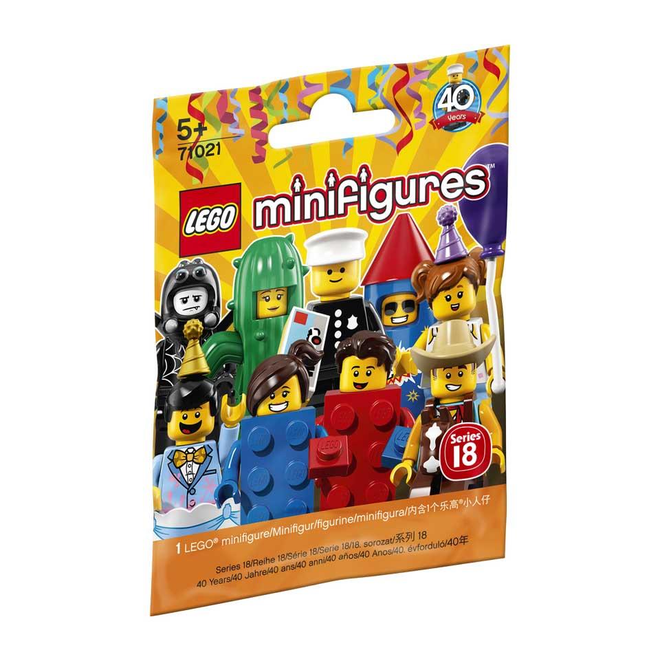 LEGO minifiguren Serie 18 Feestje 71021