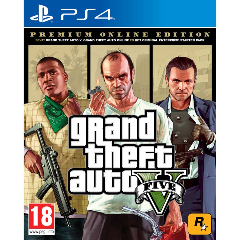 PS4 GTA V Premium Edition