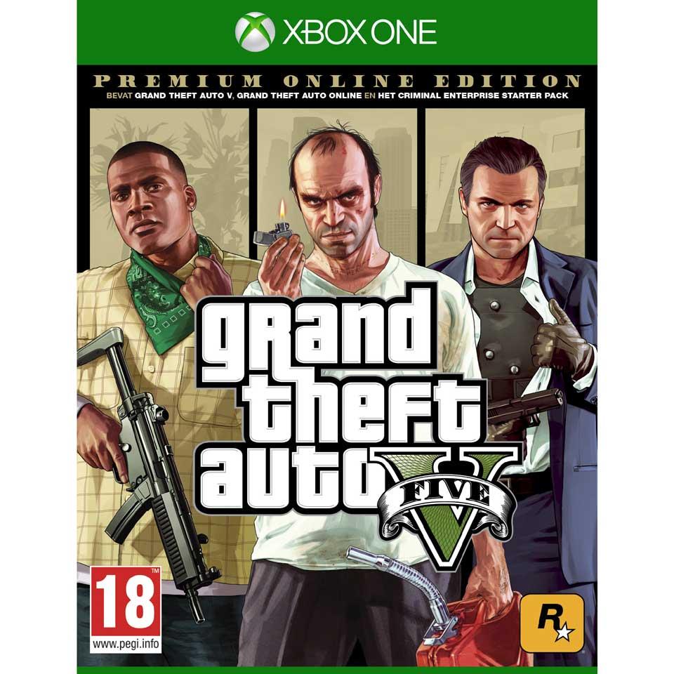 Xbox One GTA V Premium Edition