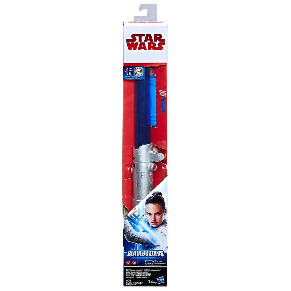 Star Wars Episode 8 Rey elektronisch lichtzwaard
