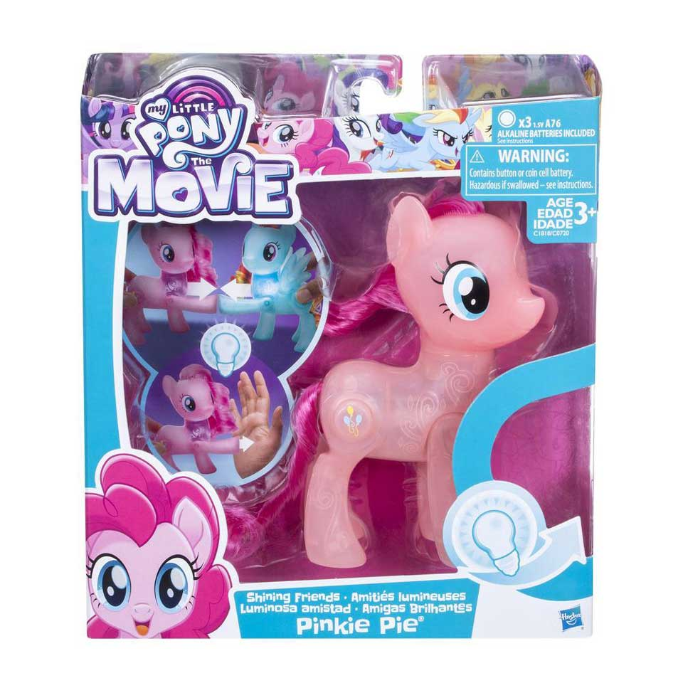 My Little Pony Shining Friends speelfigurenset Pinkie Pie