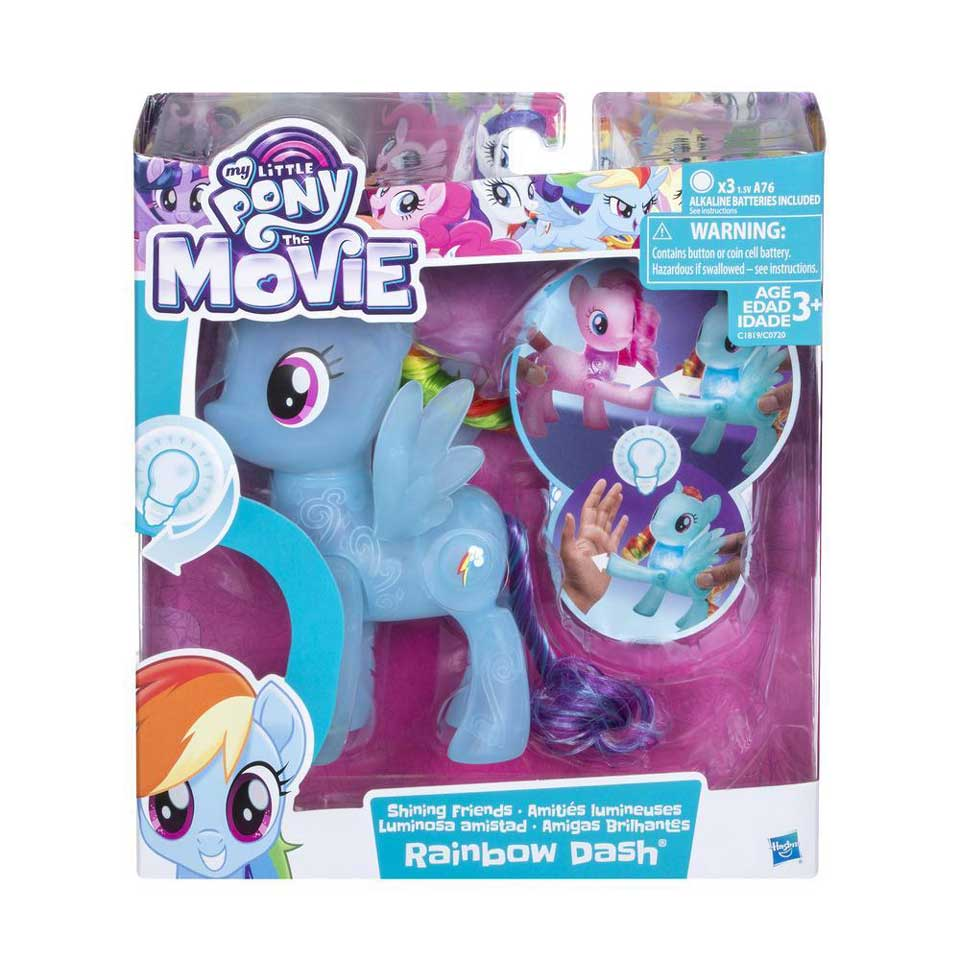 My Little Pony Shining Friends speelfigurenset Rainbow Dash