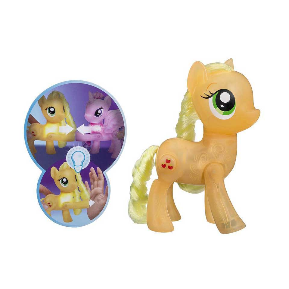 My Little Pony Shining Friends speelfigurenset Applejack