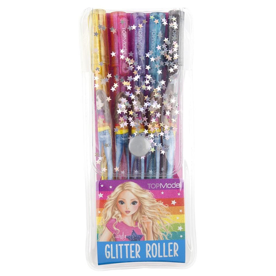 TOPModel gelpennen glitter - 5 stuks