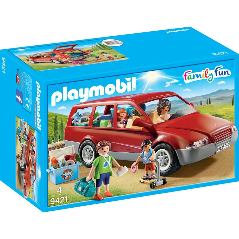 PLAYMOBIL Family Fun gezinswagen 9421