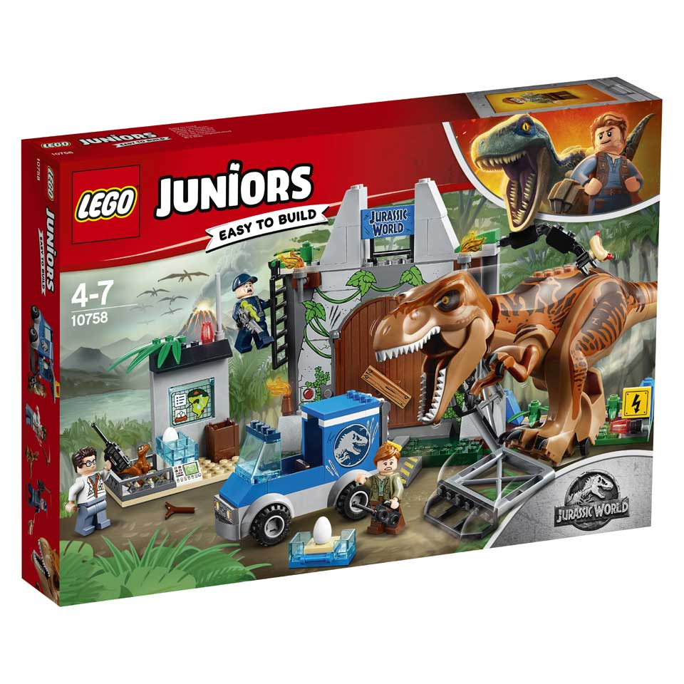 LEGO Juniors T-rex ontsnapping 10758
