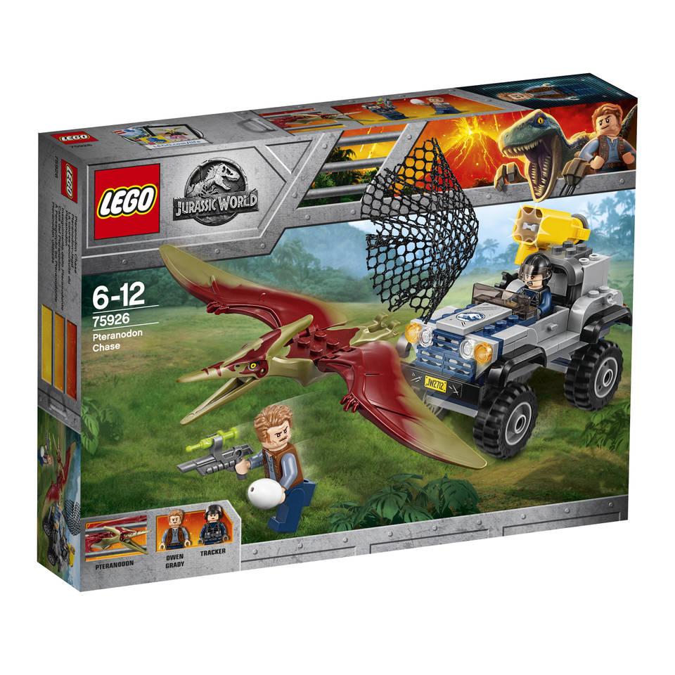 LEGO Jurassic World achtervolging van Pteranodon 75926