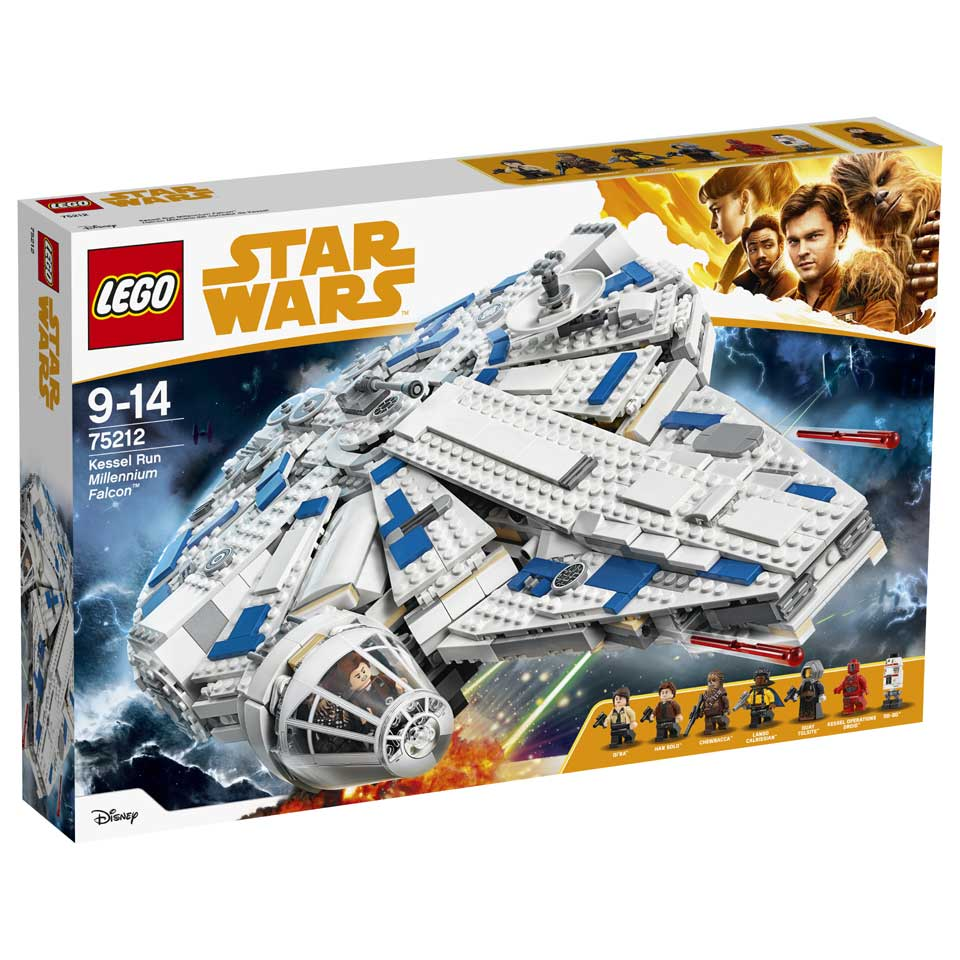 LEGO Star Wars Kessel Run Millenium Falcon 75212