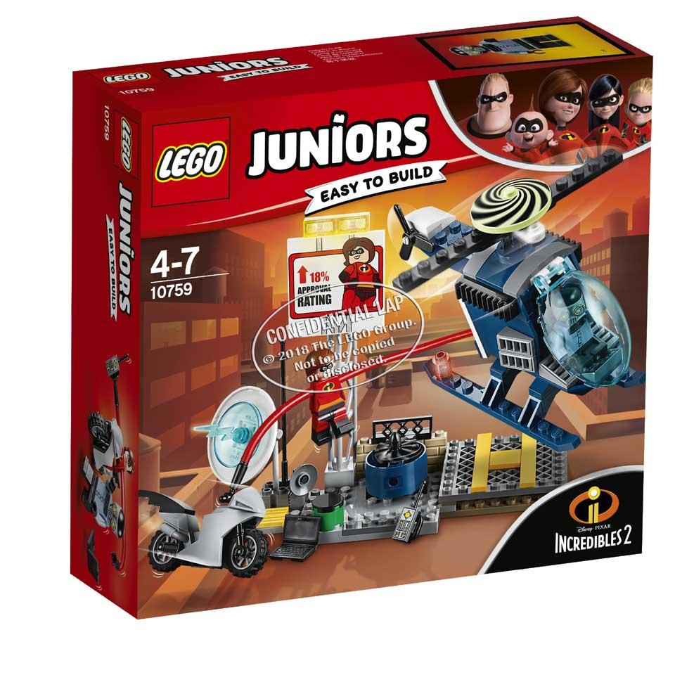 LEGO Juniors dakachtervolging van Elastigirl 10759