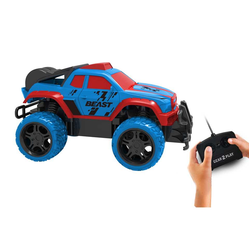 Gear2play op afstand bestuurbare Monstertruck Beast