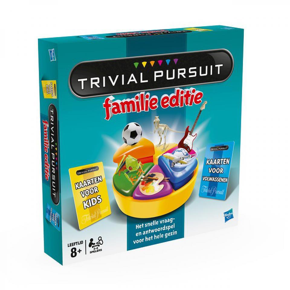 Trivial Pursuit Familie Editie gezelschapsspel