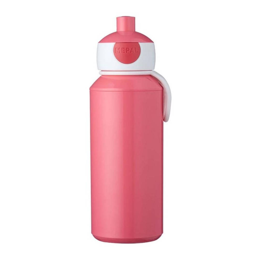 Mepal Campus pop-up drinkfles - 400 ml - roze