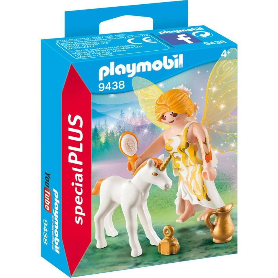 PLAYMOBIL SpecialPLUS zonnefee met eenhoornveulen 9438