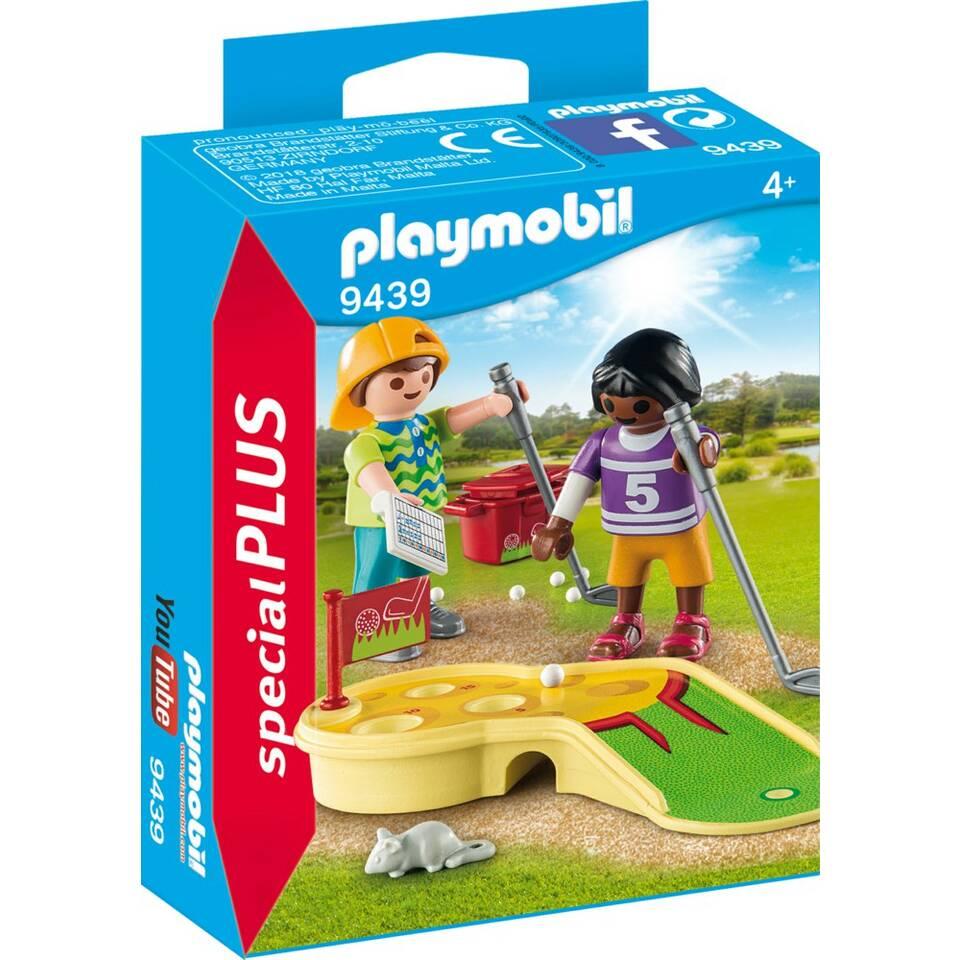 PLAYMOBIL SpecialPLUS kinderen met minigolf 9439