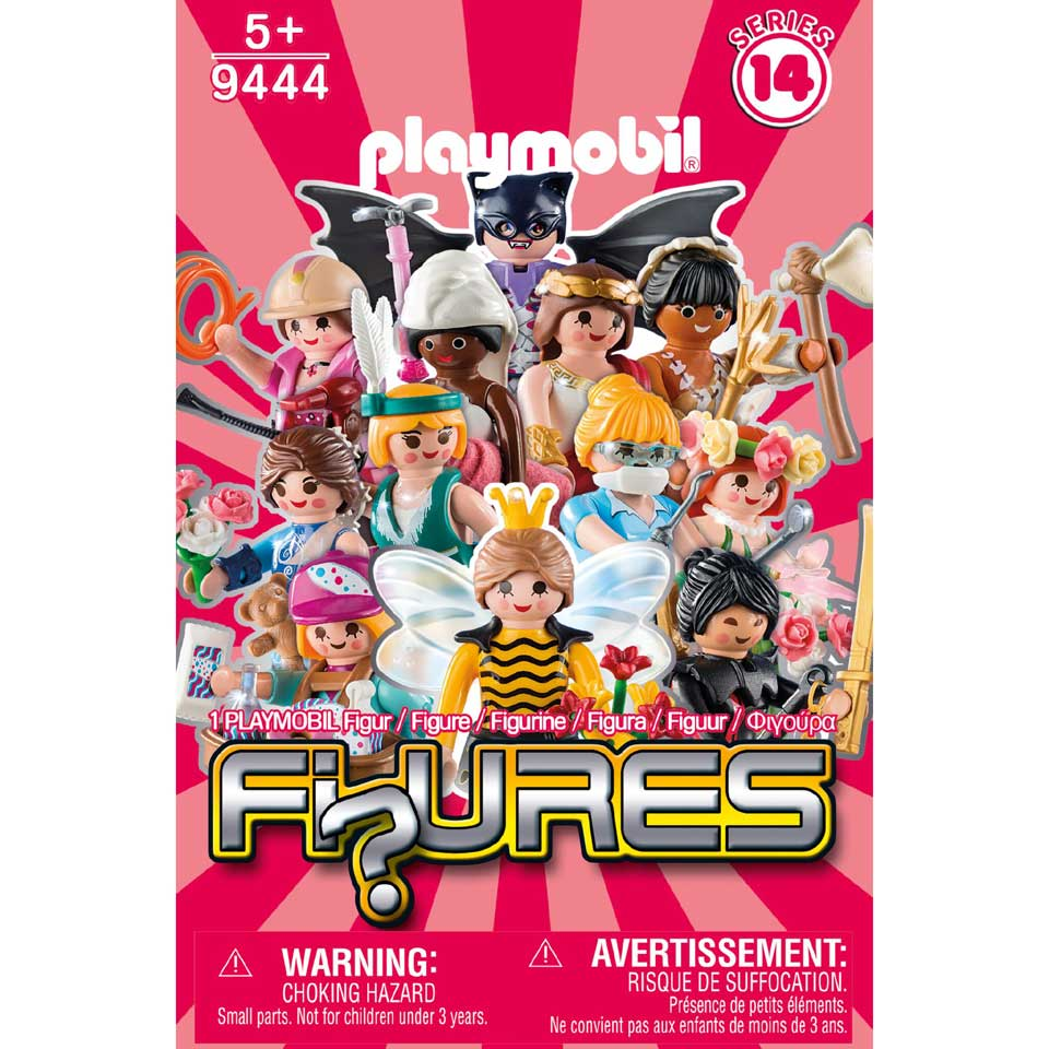 PLAYMOBIL Serie 14 meisjes figuurtje
