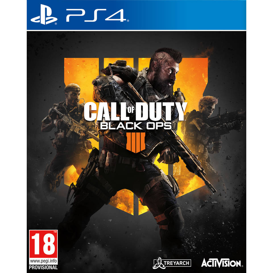 PS4 Call of Duty: Black Ops 4