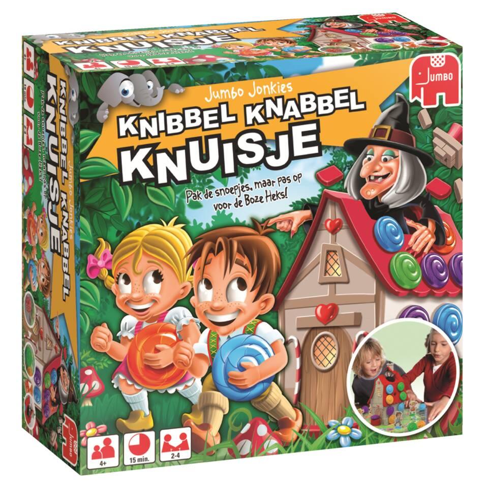 Jumbo Knibbel Knabbel Knuisje bordspel