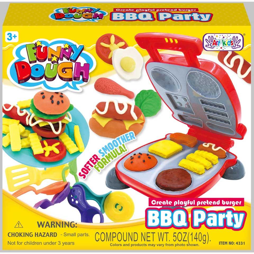 Funny Dough BBQ party set