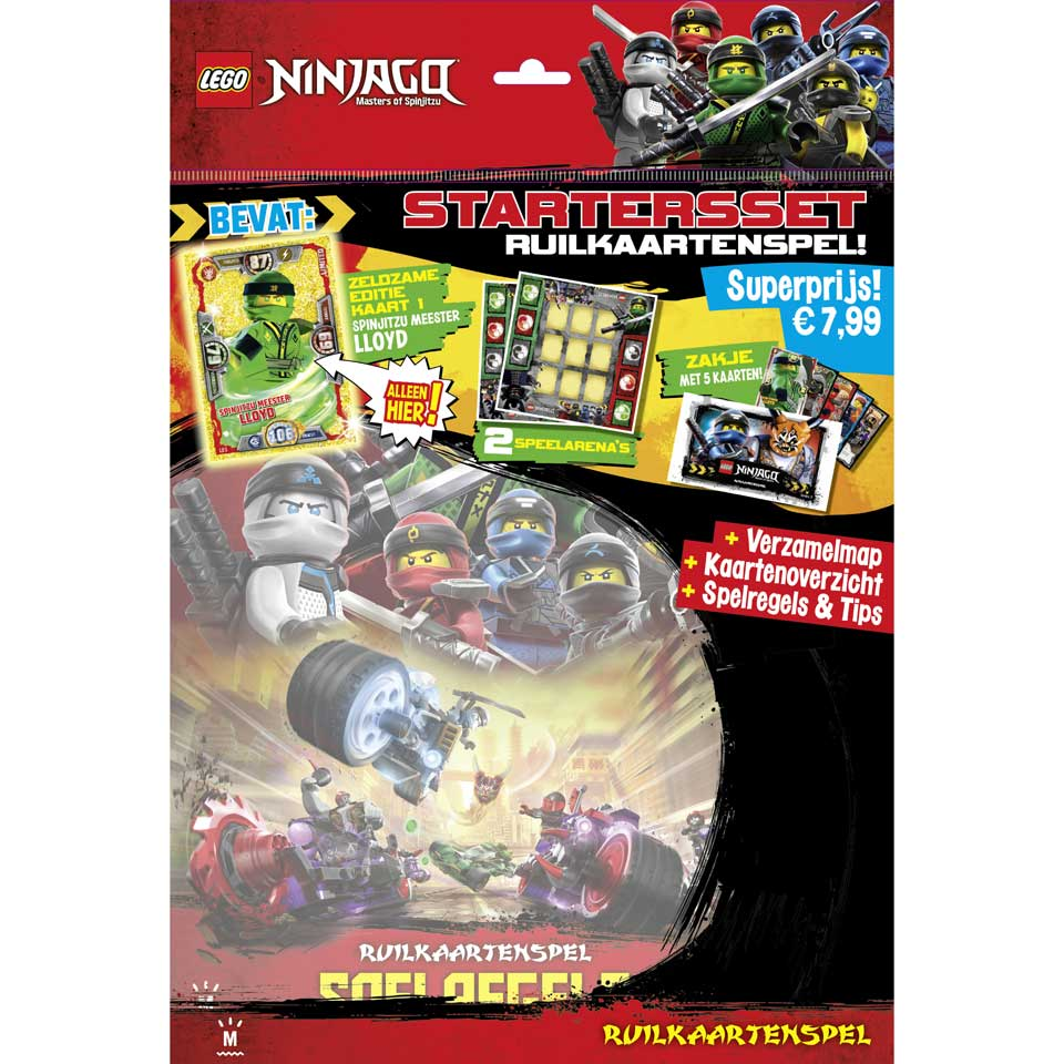 LEGO Ninjago ruilkaartenspel starterpack