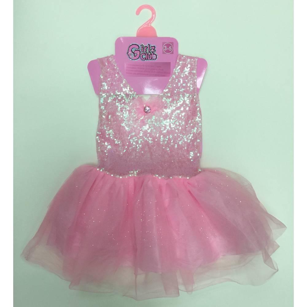 Prinsessenjurk - 3-5 jaar - roze