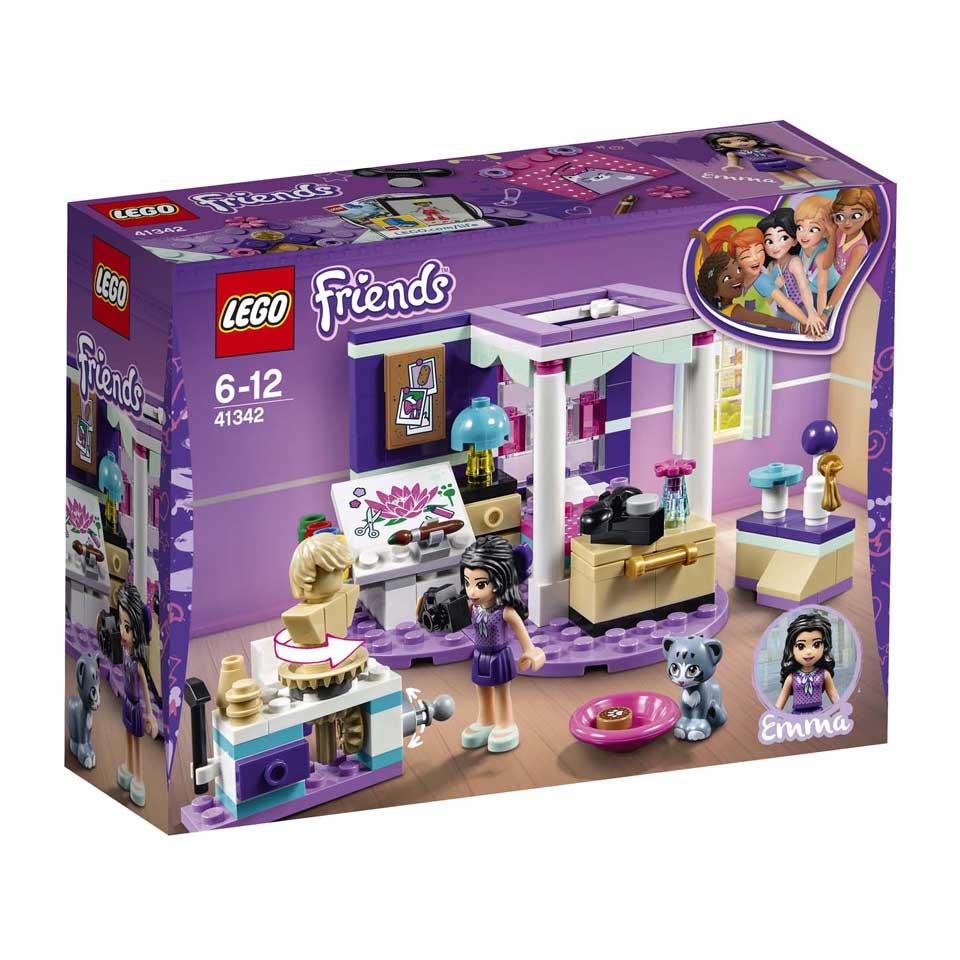LEGO Friends Emma's luxe slaapkamer 41342