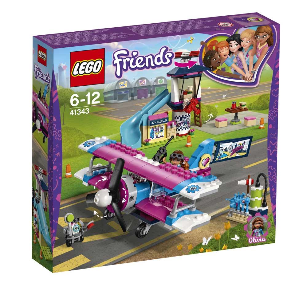 LEGO Friends Heartlake City vliegtuigtour 41343