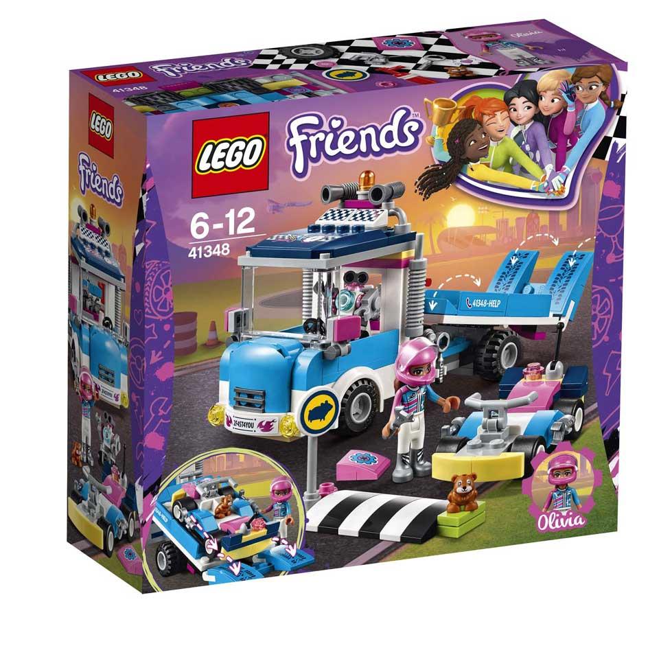 LEGO Friends onderhouds- en reparatietruck 41348