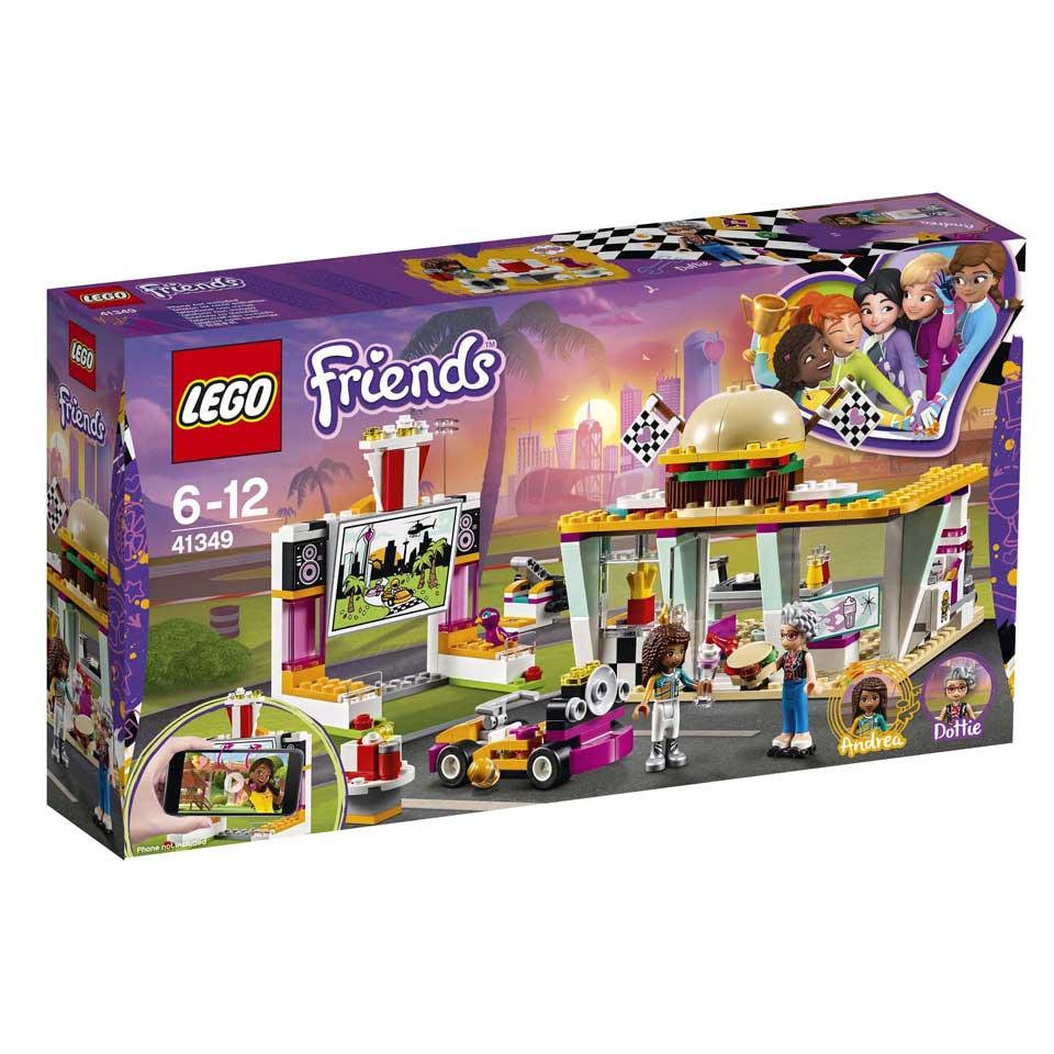 LEGO Friends Go-kart diner 41349